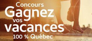 Concours La Presse Ôrigine Gagnez vos vacances 100% Québec