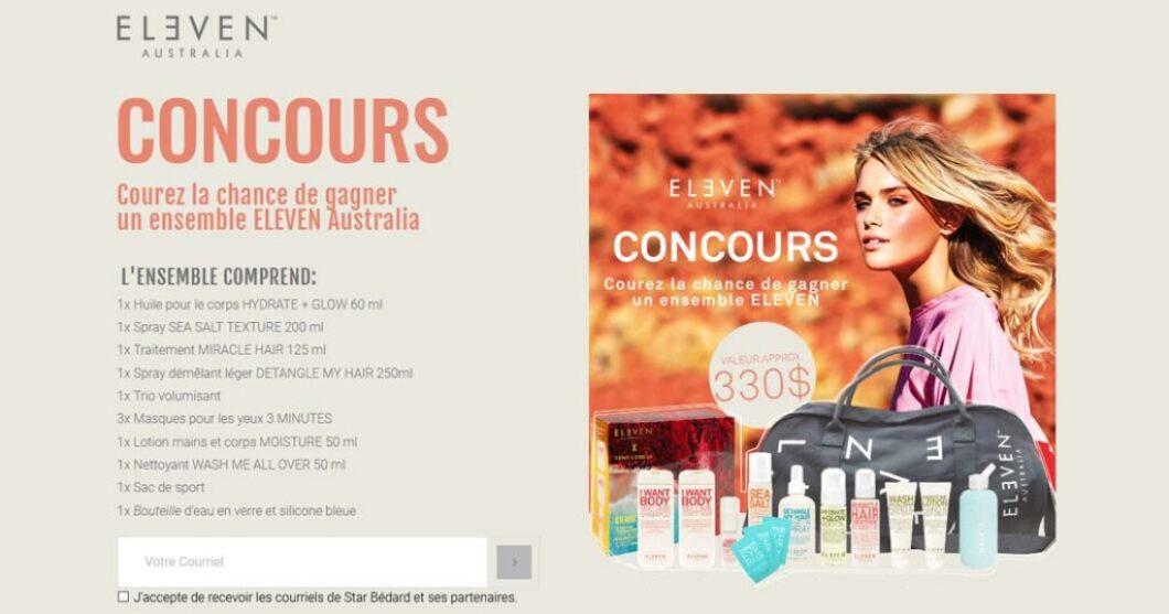 Concours Look Magazine Gagnez un ensemble ELEVEN Australia