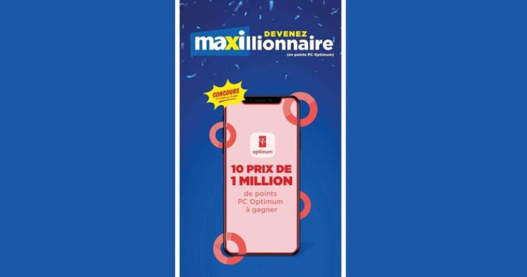 Concours Maxi Devenez Maxillionnaire