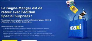 Concours Le Gagne-Manger Maxi