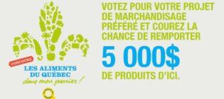Concours SB Privilèges Les aliments du Québec dans mon panier