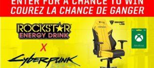 Concours Cyberpunk 2077 de Rockstar et Dollarama