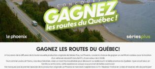 Concours Séries Plus Gagnez les routes du Québec