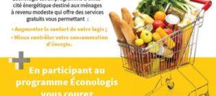Concours Expertbâtiment Courez la chance de gagner 1 000 $ d'épicerie avec Éconologis