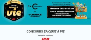 Concours IGA Épicerie à vie
