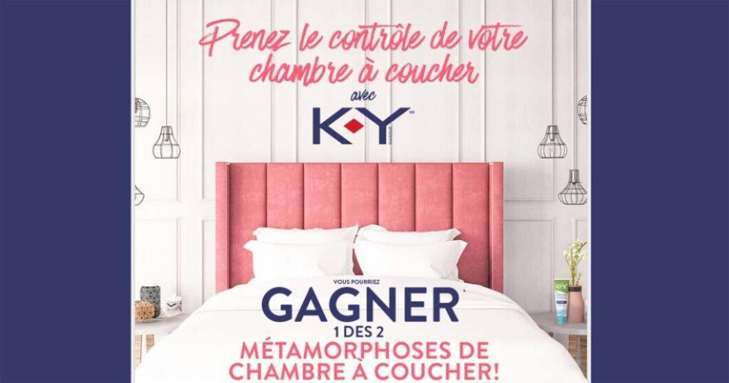Concours K-Y Prenez le contrôle de votre chambre à coucher