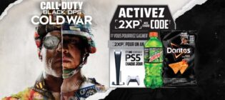 Concours Dew et Doritos Call of Duty: Black Ops War