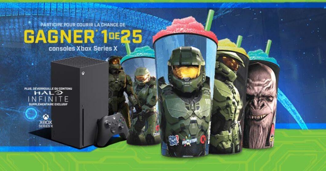 Promotion Grignote avec Xbox