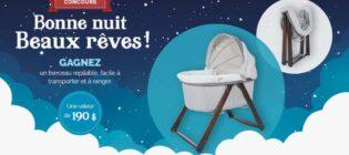 Concours Naître et grandir Bonne nuit, beaux rêves