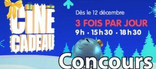Concours Ciné-Cadeau Votez pour le film du 25 décembre