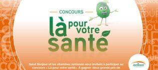Concours SB Privilèges, Jamieson, là pour votre santé