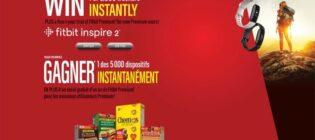 Concours General Mills Acceptez le défi et gagnez un bracelet d'activité Fitbit Inspire 2