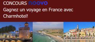 Concours Noovo Visitez la France avec le Manoir du Lac William