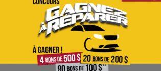 Concours AutoPLACE Gagnez à réparer