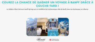Concours Couche-tard et le Club des petits déjeuners Voyage à Banff