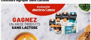 Concours Metro Gagnez un an de produits sans lactose