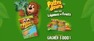 Concours Pattes d'ours Légumes et Fruits
