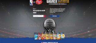 Concours Céréales Post Finales de la NBA