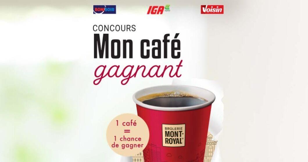 Concours Voisin Mon café gagnant