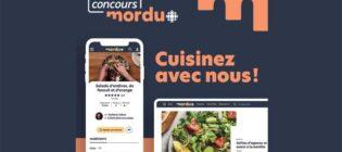 Concours Mordu Radio-Canada Cuisinez avec nous