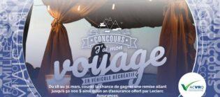 Concours J'ai mon voyage en véhicule récréatif de l'ACVRQ