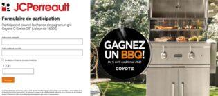 Concours JC Perreault Gagnez un BBQ Coyote