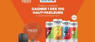 Concours Couche-Tard Molson Haut-parleurs Vizzy