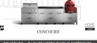 Concours Pratico-Pratiques Je décore, cuisine extérieure