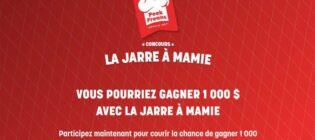 Concours Peek Freans La jarre à Mamie