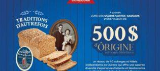 Concours St-Méthode Traditions d'autrefois
