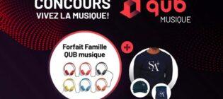 Concours Qub Musique Vivez la musique