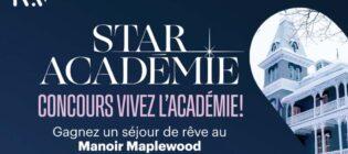 Concours TVA Star Académie Vivez l'académie