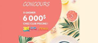 Concours Brunet Club Piscine