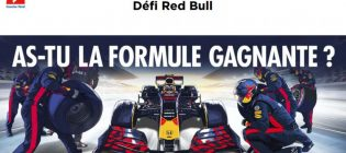 Concours Couche-Tard Défi Red Bull As-tu la formule gagnante ? Racing Activation