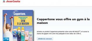 Concours Jean Coutu Coppertone vous offre un gym à la maison