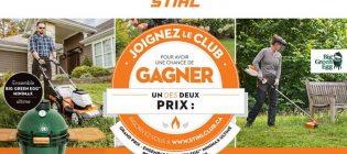 Concours Joignez le Club STIHL