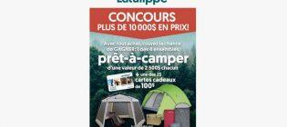 Concours Latulippe Prêt à camper