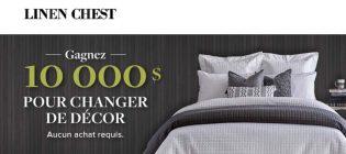 Concours Linen Chest Gagnez 10 000 $ pour changer de décor
