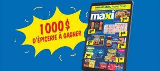 Concours Circulaire en ligne Maxi SB Privilèges
