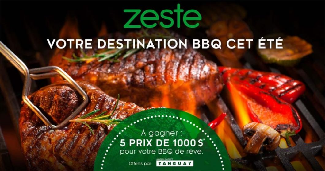 Concours Zeste télé, Votre destination BBQ de l'été