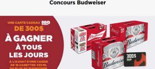 Concours Couche-Tard Enflamme ta terrasse grâce à Budweiser