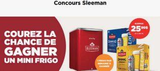 Concours Couche-Tard Mini frigo Sleeman