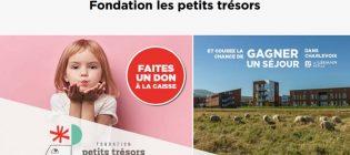 Concours Couche-Tard Fondation les petits trésors