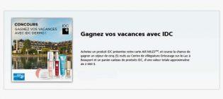 Concours Jean Coutu Gagnez vos vacances avec IDC