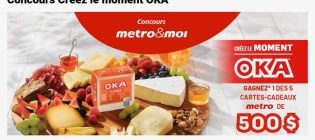 Concours Metro Créez le moment OKA