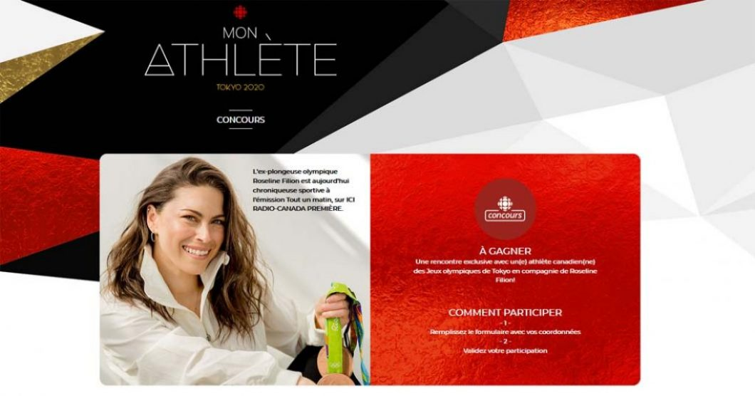 Concours Radio-Canada Mon athlète