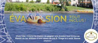 Concours SB Privilèges Gagnez un forfait Évasion tout inclus au Manoir du lac William