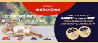 Concours Metro Les fromages Français