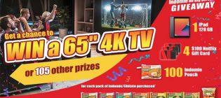 Concours Cadeau Indomie sur grand écran