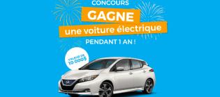 Concours e-roule Gagne la location d'une voiture pendant 1 an